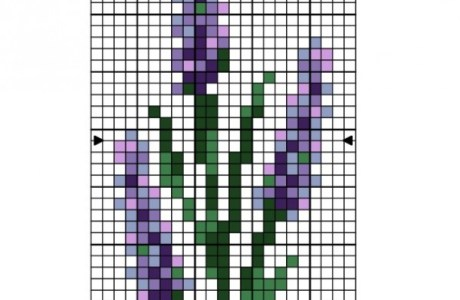 Lavender Cross Stitch Patterns