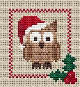 A Festive Owl for Holiday Fun