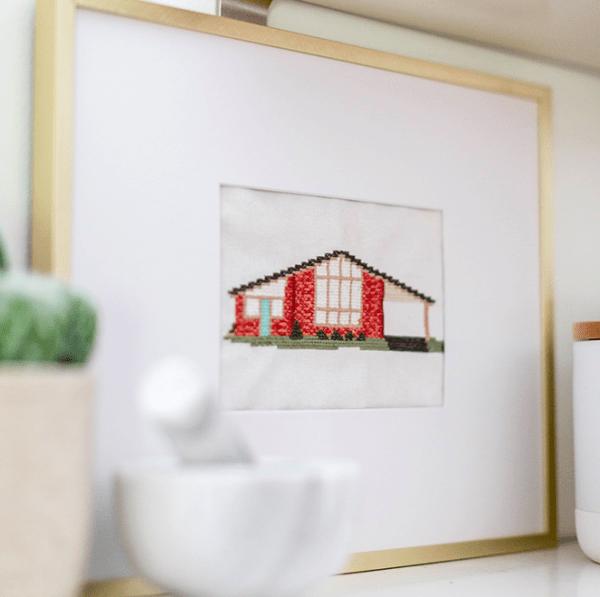 DIY Inspiration: Stitch Your House