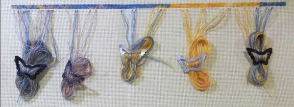 cross stitch thread management