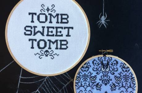 Haunted Mansion Cross Stitch Patterns