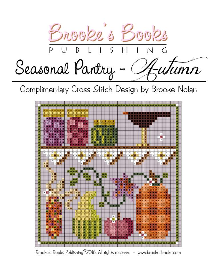autumn pantry cross stitch