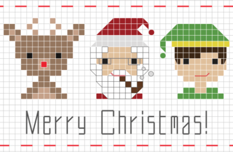 christmas people sampler