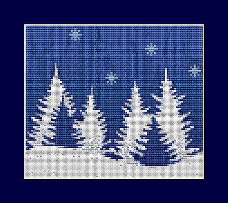 christmas dreams cross stitch