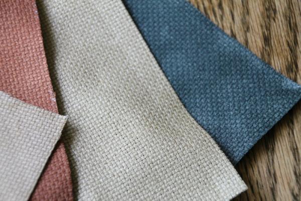 painting cross stitch fabric