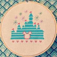 Missing Disney? Stitch A Disney-Inspired Cross-Stitch Pattern