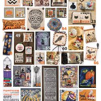 57 Halloween Cross Stitch Designs