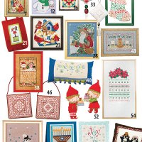 25 Festive Cross Stitch Patterns