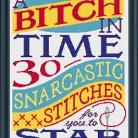 A Bitch in Time Offers Salty Cross-Stitch Patterns