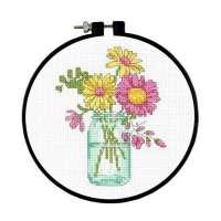 Summer Flowers Cross Stitch Kit