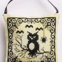Spooky Owl Cross Stitch Pattern