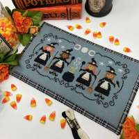 Calling All Witches Cross Stitch Pattern