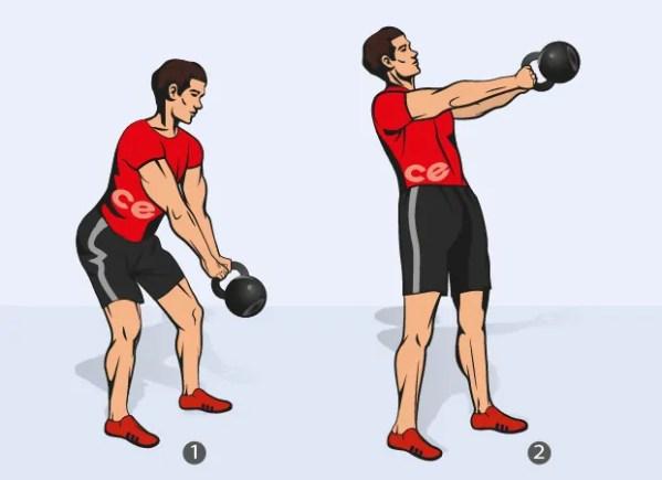 Кроссфит (crossfit) с гирями: упражнения, тренировки и ...