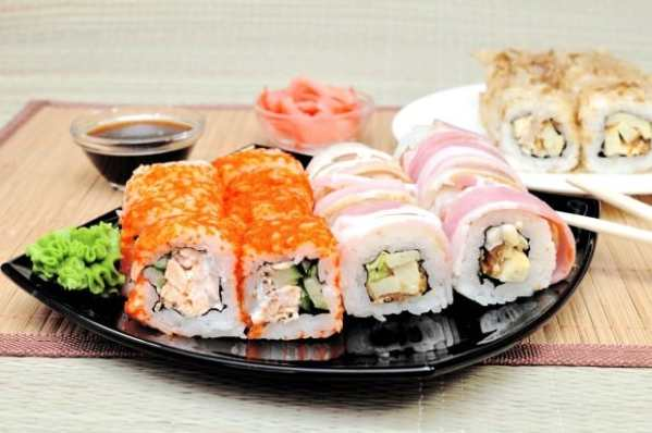 Таблица калорийности японской кухни (включая БЖУ)