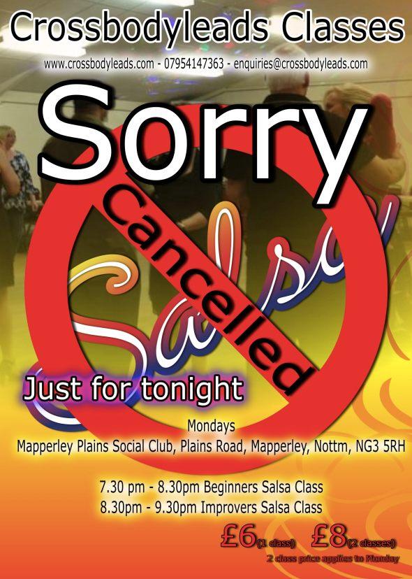 class flyer cancelled monday