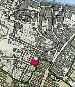 Rocque's Map 1746 - detail