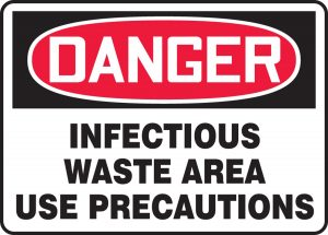 infectious waste causing valley fever