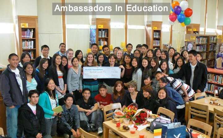 Metlife Foundation Ambassadors In Education Award