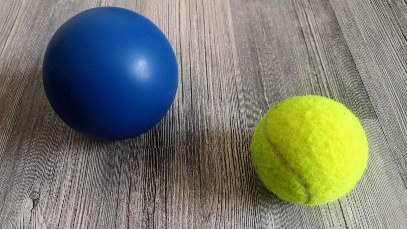 faszienball-tennisball