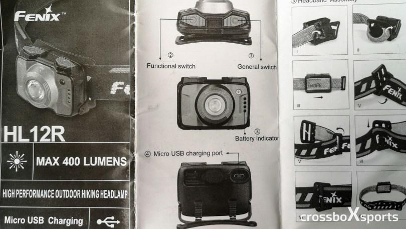 Produktblatt-Stirnlampe