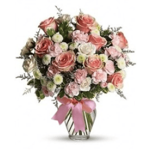 baby girl flowers girl arrangement
