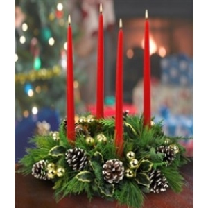 christmas centerpiece holiday flowers