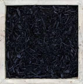 Mulch, dyed black