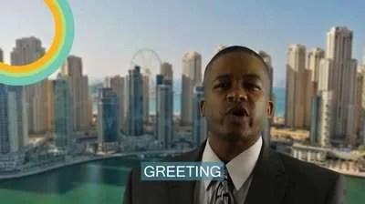 First Business Meeting In Saudi Arabia