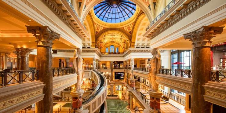 Caesar's Palace Forum Shops
