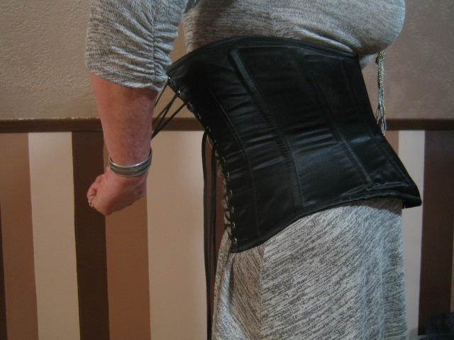 Wearing a Corset for Crossdressing: Pulling the Topmost Crossover