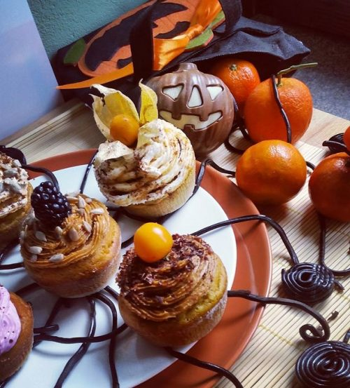muffin alla zucca per halloween
