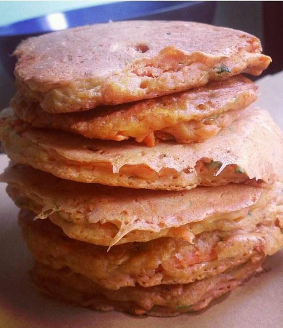 frittelle vegane a base di farina di ceci