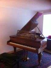 The author's 1913 Bechstein A grand piano