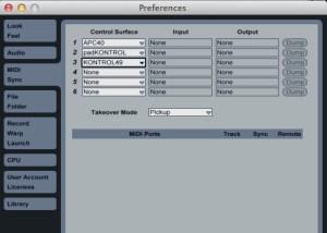 MIDI-Prefs