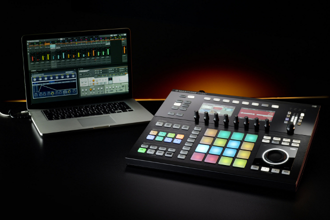 Maschine-Studio-Laptop