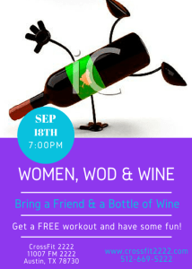 Women, Wod & Wine