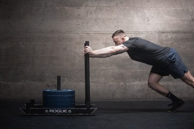 Mark Sled Push