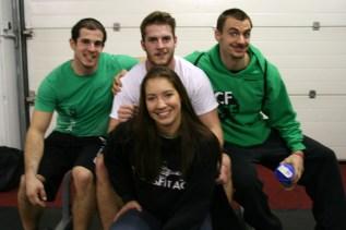 Unsere CrossFit-ACE-Kämpfer und ihr Coach