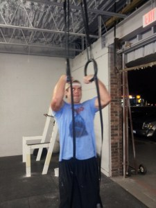 Great job Adam on your first muscle up!