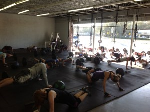Great WOD today! Enjoy the weekend and be ready for Monday!