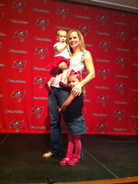 Thank you to Nick and the Tampa Bay Buccaneers for the donations to Brittany.. We will have a silent auction February 16th along with the benefit WOD. Come check out what we have!