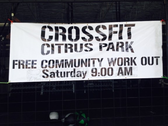 Come join us for a FREE community WOD on Saturday 4/5.. Spring kickoff and tons of fun!
