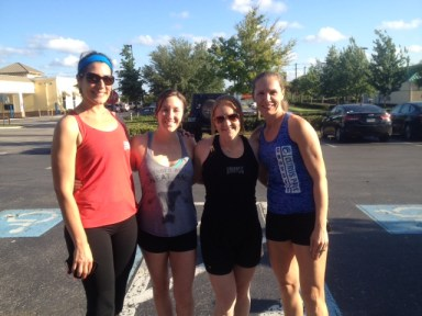 Thank you CrossFit Enfuego for hosting a fun 5k at the Land O lakes WOB.. looking forward to next months run!