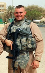 U.S. Air Force Security Forces 1st Lt. Joseph D. Helton, 24, of Monroe, Ga., assigned to the 6th Security Forces Squadron at MacDill Air Force Base in Tampa, Fla., was killed September 8th, 2009, while on a mission near Baghdad, Iraq, when an improvised explosive device detonated near his vehicle. Helton is survived by his mother, Jiffy Helton.