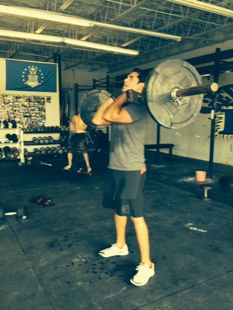 Great WOD Javi!! Always fun having you at the box! Thank you for all the energy you bring to CCP! We thank you for the eye candy too!