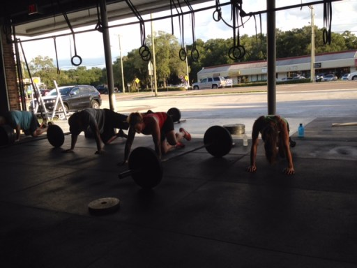 Great job working on mobility the last few weeks! Stretching after the WOD is just as important.