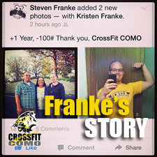Steven Franke – 1 year transformation