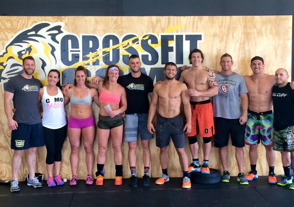 CrossFit COMO hosts Central Regional Athletes #PreRegionals