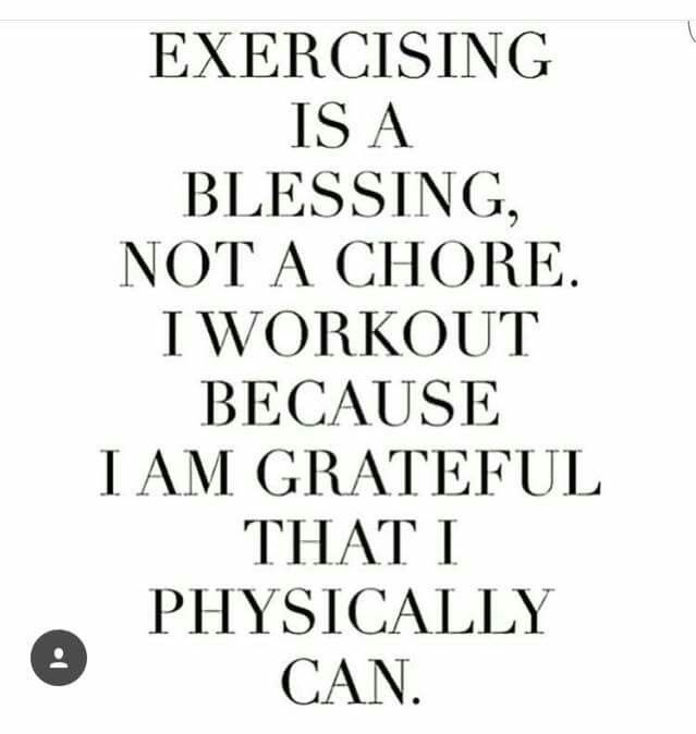 exercise blessing