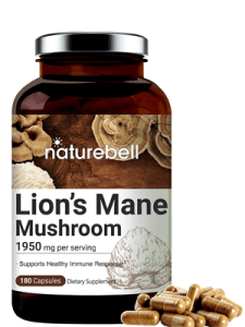 Naturebell Maximum Strength Organic Lion's Mane